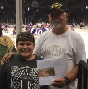 Frank attended New York Islanders vs. Philadelphia Flyers - NHL on Sep 16th 2018 via VetTix
