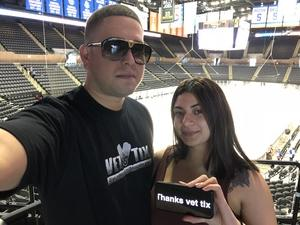 Ronny attended New York Islanders vs. Philadelphia Flyers - NHL on Sep 16th 2018 via VetTix