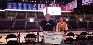 Bruce attended New York Islanders vs. Philadelphia Flyers - NHL on Sep 16th 2018 via VetTix