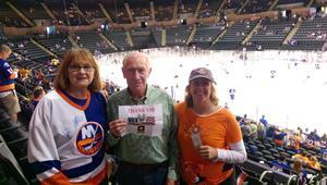 Peter attended New York Islanders vs. Philadelphia Flyers - NHL on Sep 16th 2018 via VetTix