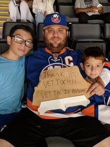 jason attended New York Islanders vs. Philadelphia Flyers - NHL on Sep 16th 2018 via VetTix