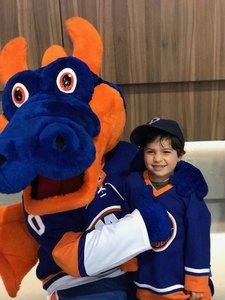 Alexander attended New York Islanders vs. Philadelphia Flyers - NHL on Sep 16th 2018 via VetTix