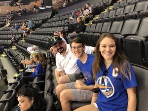 Scott attended New York Islanders vs. Philadelphia Flyers - NHL on Sep 16th 2018 via VetTix