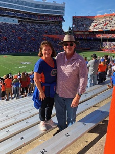 Thomas attended Florida Gators vs. Idaho Vandals - NCAA Football on Nov 17th 2018 via VetTix