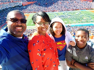 Richard attended Florida Gators vs. Idaho Vandals - NCAA Football on Nov 17th 2018 via VetTix