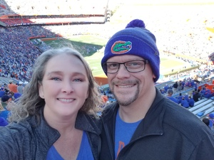 Toni attended Florida Gators vs. Idaho Vandals - NCAA Football on Nov 17th 2018 via VetTix