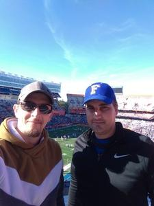 Benjamin attended Florida Gators vs. Idaho Vandals - NCAA Football on Nov 17th 2018 via VetTix
