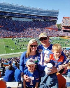 Sgt Hammond attended Florida Gators vs. Idaho Vandals - NCAA Football on Nov 17th 2018 via VetTix