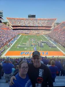 Harold attended Florida Gators vs. Idaho Vandals - NCAA Football on Nov 17th 2018 via VetTix