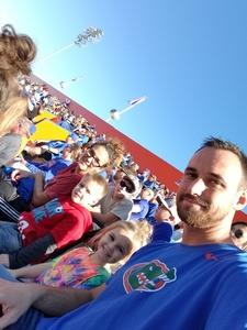 Matthew attended Florida Gators vs. Idaho Vandals - NCAA Football on Nov 17th 2018 via VetTix