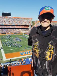 Blair attended Florida Gators vs. Idaho Vandals - NCAA Football on Nov 17th 2018 via VetTix