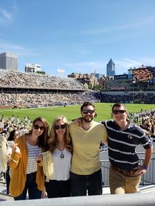Chase attended Georgia Tech vs. Duke - NCAA Football on Oct 13th 2018 via VetTix