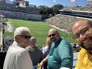 Steven attended Georgia Tech vs. Duke - NCAA Football on Oct 13th 2018 via VetTix