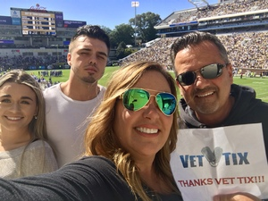 Jeffrey attended Georgia Tech vs. Duke - NCAA Football on Oct 13th 2018 via VetTix