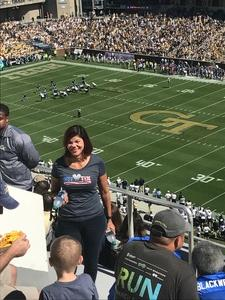Marline attended Georgia Tech vs. Duke - NCAA Football on Oct 13th 2018 via VetTix