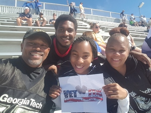 Ernest attended Georgia Tech vs. Duke - NCAA Football on Oct 13th 2018 via VetTix