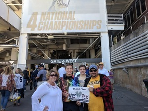 Joseph attended Georgia Tech vs. Duke - NCAA Football on Oct 13th 2018 via VetTix
