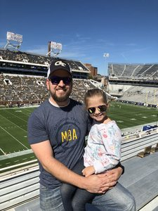 Daniel attended Georgia Tech vs. Duke - NCAA Football on Oct 13th 2018 via VetTix