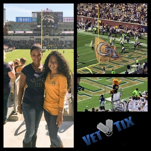 KARLA attended Georgia Tech vs. Duke - NCAA Football on Oct 13th 2018 via VetTix