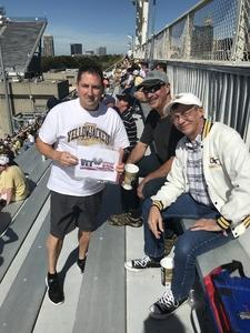 MGySgt S. attended Georgia Tech vs. Duke - NCAA Football on Oct 13th 2018 via VetTix