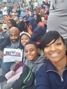Rasheedah attended Georgia Tech vs. Virginia - NCAA Football on Nov 17th 2018 via VetTix