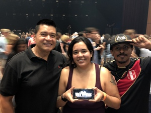 Reese attended Sting & Shaggy the 44/876 Tour - Ga Reserved Seats on Sep 19th 2018 via VetTix
