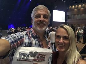 Sean & Millie attended Sting & Shaggy the 44/876 Tour - Ga Reserved Seats on Sep 19th 2018 via VetTix