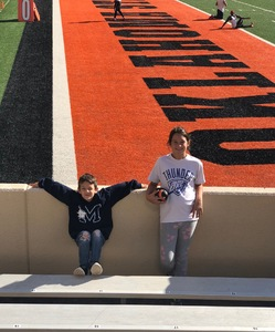 Jason attended Oklahoma State University Cowboys vs Iowa State - NCAA Football on Oct 6th 2018 via VetTix