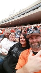 Dallas Williams attended Oklahoma State University Cowboys vs Iowa State - NCAA Football on Oct 6th 2018 via VetTix
