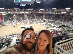 Aaron attended 25th PBR Unleash the Beast Tickets on Oct 7th 2018 via VetTix