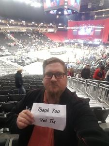 Timothy attended 25th PBR Unleash the Beast Tickets on Oct 7th 2018 via VetTix