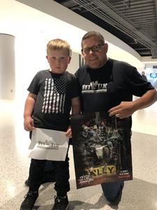 Leo attended 25th PBR Unleash the Beast Tickets on Oct 7th 2018 via VetTix