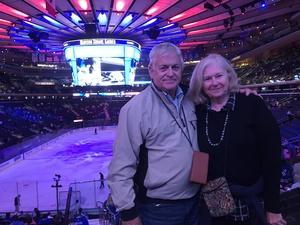 Richard attended New York Rangers vs. New Jersey Devils - NHL on Sep 24th 2018 via VetTix