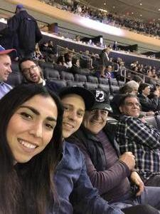 Nelson attended New York Rangers vs. New Jersey Devils - NHL on Sep 24th 2018 via VetTix