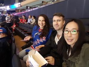 Derek attended New York Rangers vs. New Jersey Devils - NHL on Sep 24th 2018 via VetTix