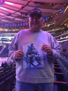Louis attended New York Rangers vs. New Jersey Devils - NHL on Sep 24th 2018 via VetTix