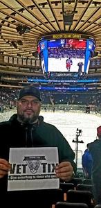 Israel attended New York Rangers vs. New Jersey Devils - NHL on Sep 24th 2018 via VetTix
