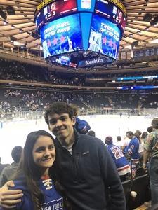 Greg attended New York Rangers vs. New Jersey Devils - NHL on Sep 24th 2018 via VetTix