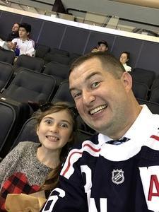 Kenneth attended New York Rangers vs. New Jersey Devils - NHL on Sep 24th 2018 via VetTix