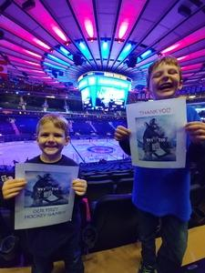 Alex attended New York Rangers vs. New Jersey Devils - NHL on Sep 24th 2018 via VetTix