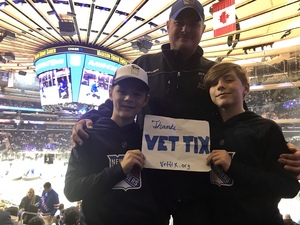 Ed attended New York Rangers vs. New Jersey Devils - NHL on Sep 24th 2018 via VetTix