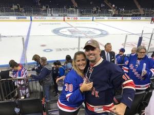 Stephen attended New York Rangers vs. New Jersey Devils - NHL on Sep 24th 2018 via VetTix