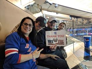 Matthew attended New York Rangers vs. New Jersey Devils - NHL on Sep 24th 2018 via VetTix