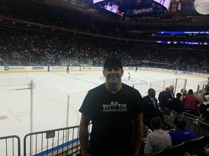 Zej attended New York Rangers vs. New Jersey Devils - NHL on Sep 24th 2018 via VetTix