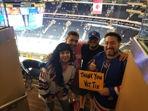 Click To Read More Feedback from New York Rangers vs. New York Islanders - NHL