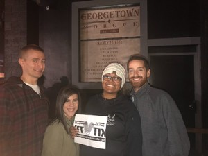 Carl Palmer & Grand Kids attended Georgetown Morgue on Sep 21st 2018 via VetTix