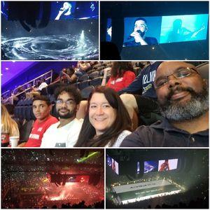 Jermaine attended Drake & Migos Aubrey &the 3 Migos Tour on Sep 16th 2018 via VetTix