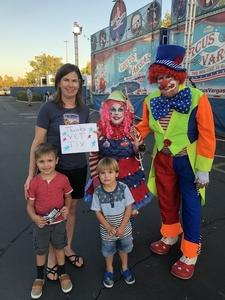 Click To Read More Feedback from Vargas Circus