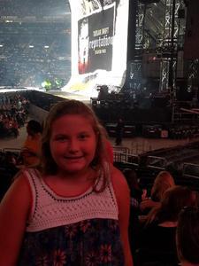 Zachary attended Taylor Swift Reputation Stadium Tour - Pop on Sep 22nd 2018 via VetTix