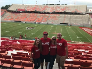 Harry attended NC State Wolfpack vs. Boston College - NCAA Football - Time Tba on Oct 6th 2018 via VetTix